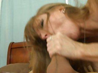 Horny slut Darla Crane likes getting fucked doggy style