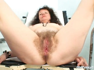 Karla visits gyno clinic with extremely hirsute pussy