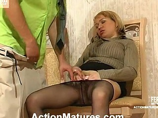Horny mother i'd like to fuck longing for a feel of a live knob in her stimulated mouth and muff